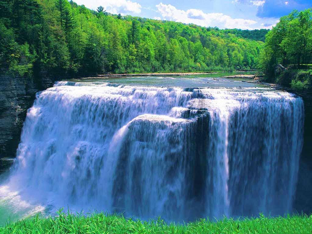 Big Fact Waterfall Wallpaper Nature Images Desktop Download
