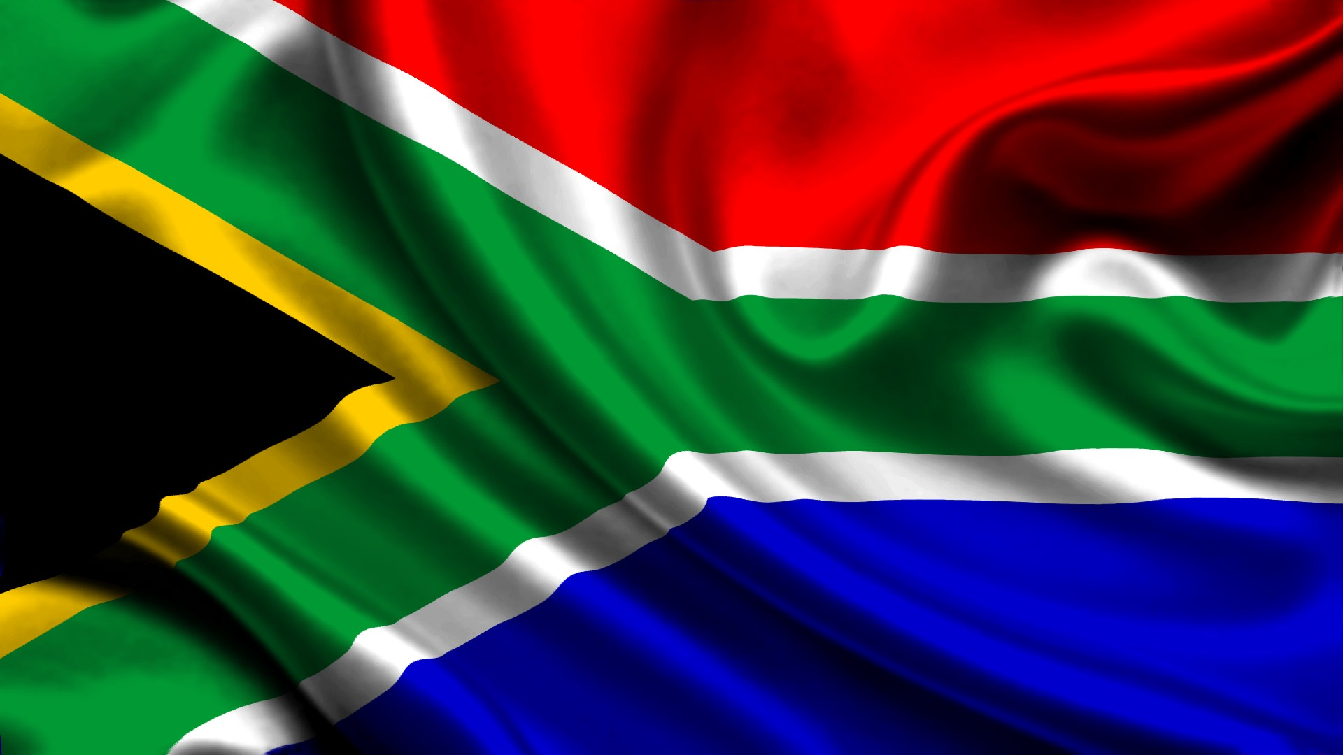 South Africa National Flag Desktop Backgrounds Wallpaper