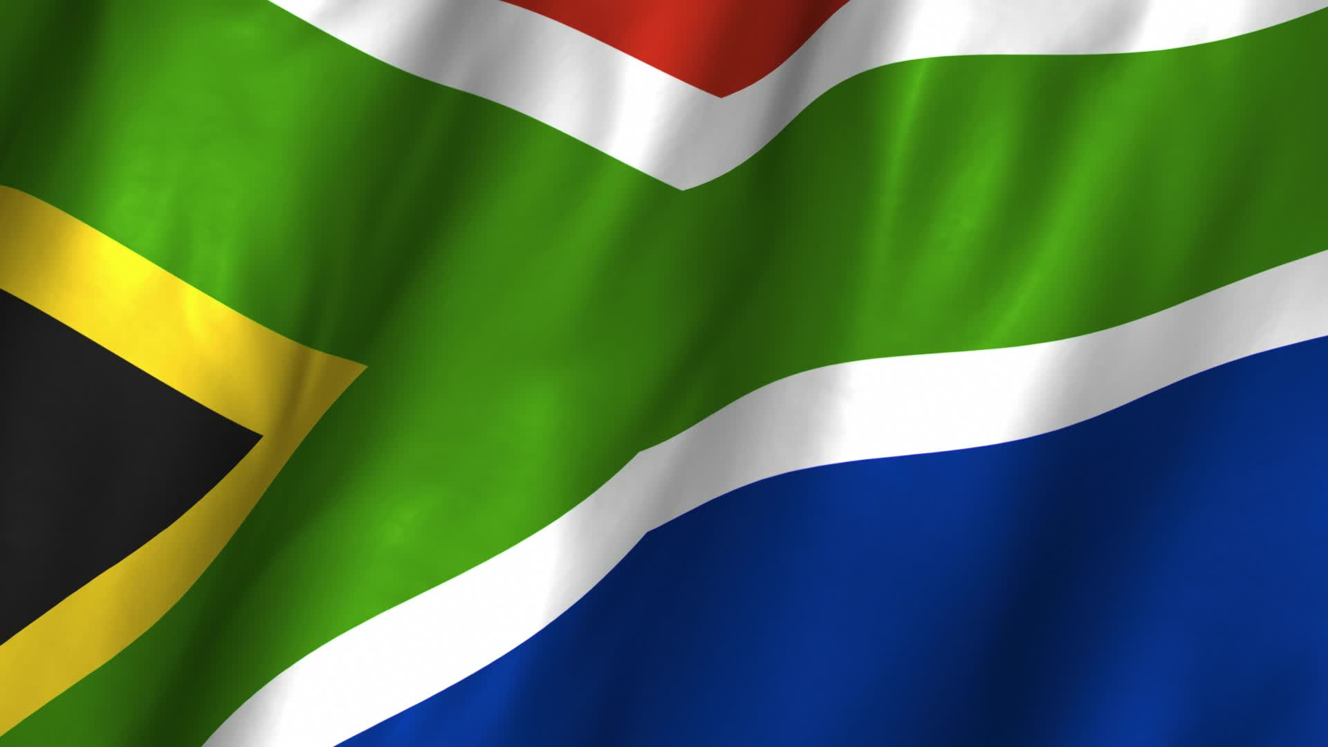 waving south africa flag images free download