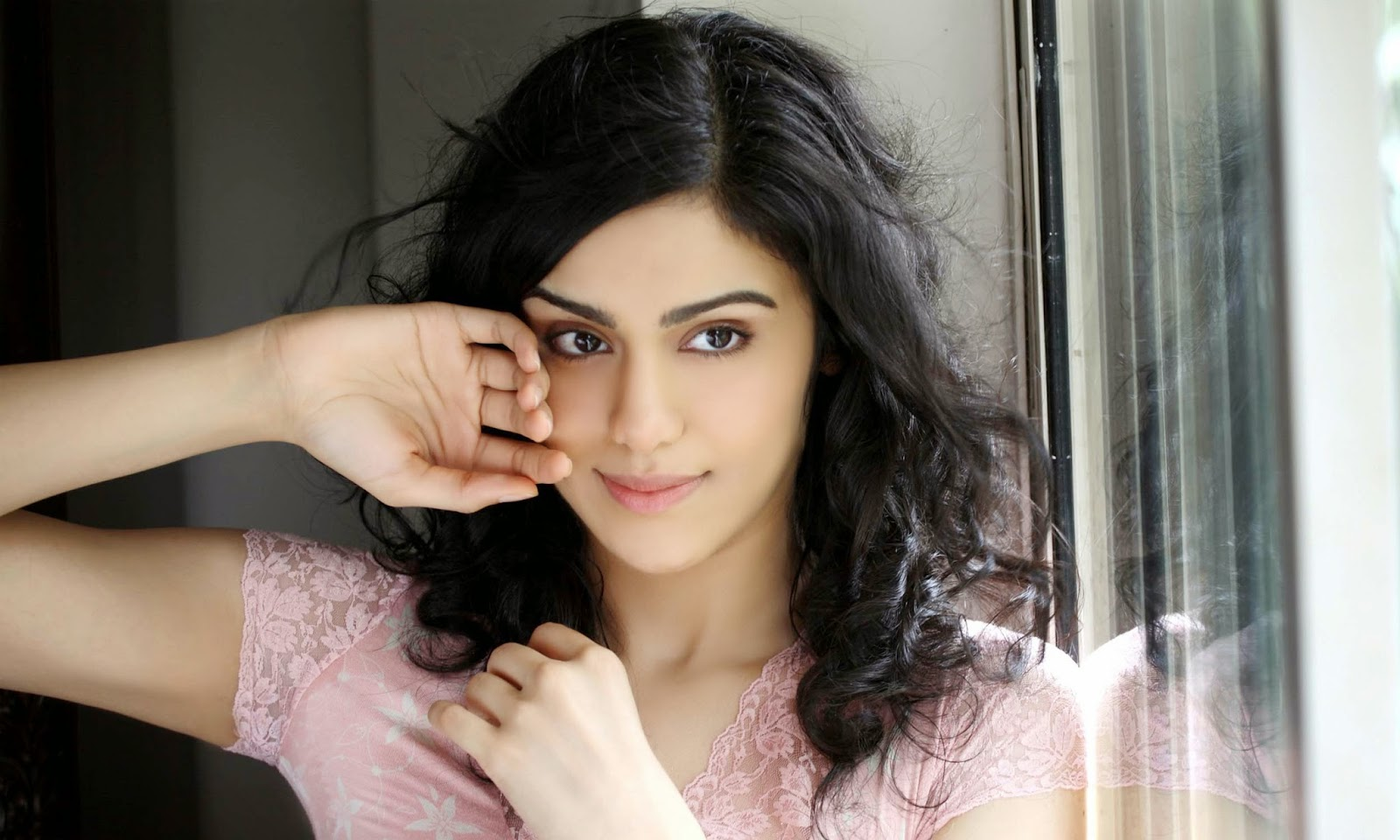 lovely adah sharma cute face free mobile desktop hd background picures