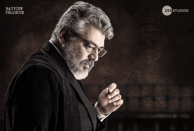 ajith nerkonda paarvai wallpapers