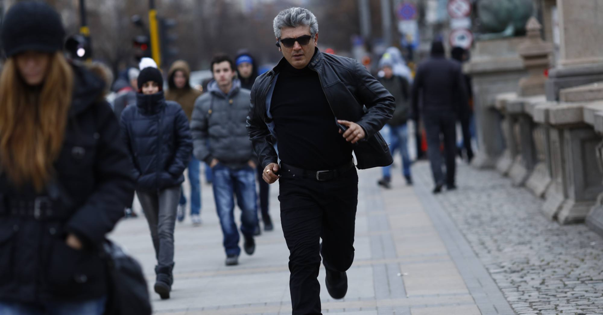 ajith thala in vivegam movie stills