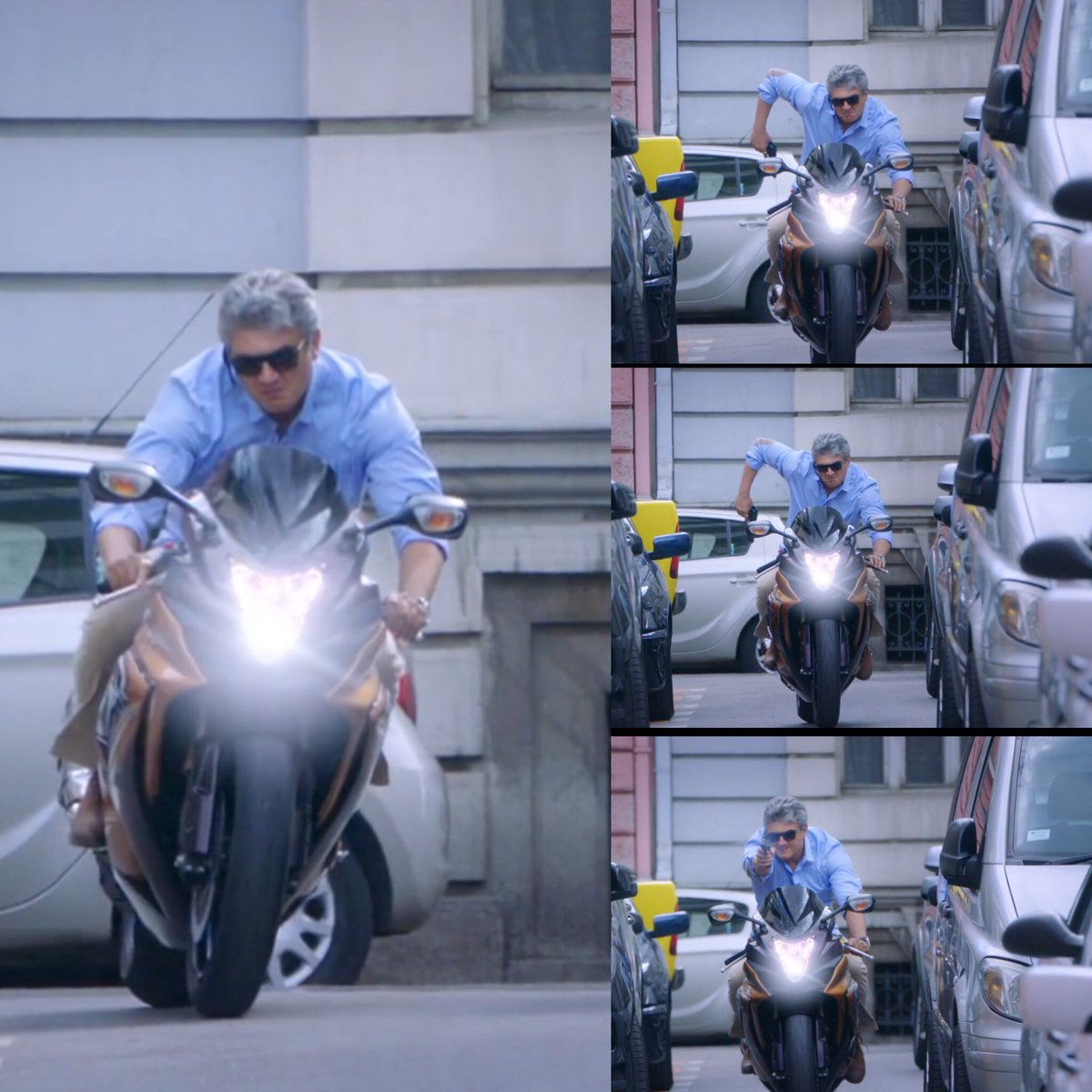free hd thala ajith stylish bike in vivegam mobile desktop background mass images