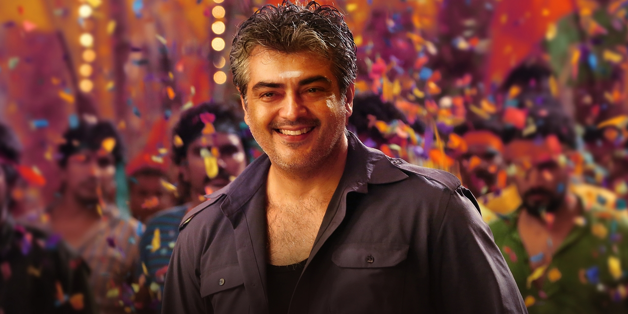Hd Thala Ajith Cute Attractive Look In Vedhalam Mobile Desktop Background Mass Photos