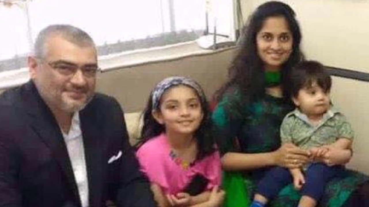 Hd Thala Ajith Family Mobile Desktop Pictures