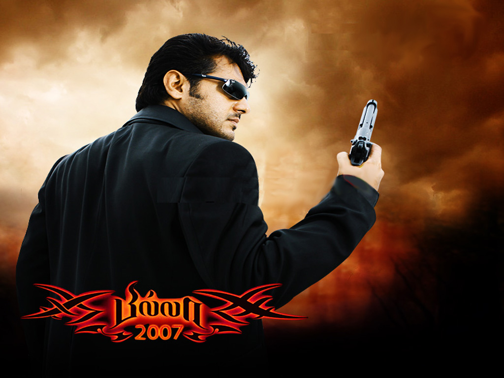 thala ajith in billa best download background images