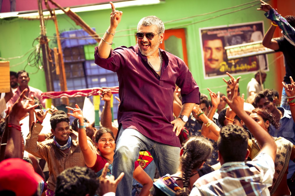 thala ajith in vedalam fantastic style desktop downlaod background images