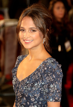 alicia vikander beautiful smile face mobile background download free images hd