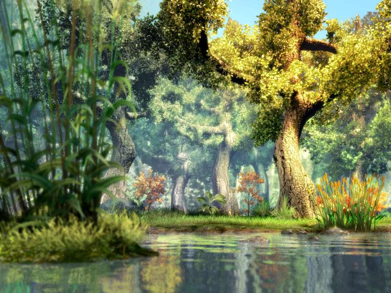 3d fantasy river hd wallpapers images picture photos