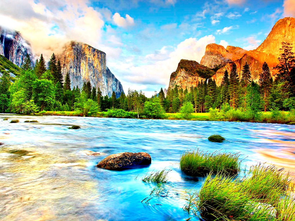 animated river free wallpapers images picture photos download
