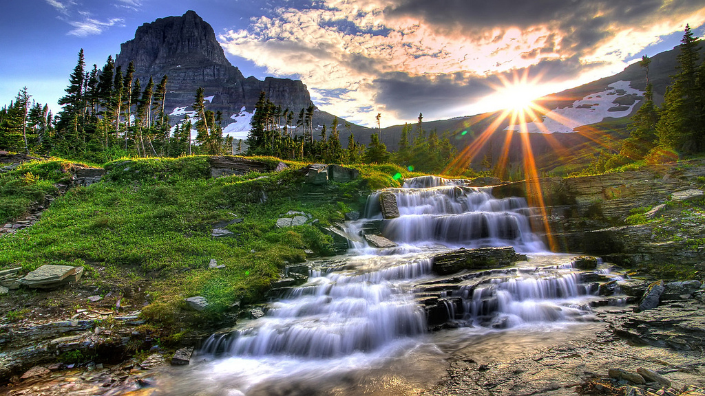 Sunrays Showing Alluring Rivers Wallpapers Images Pics Download