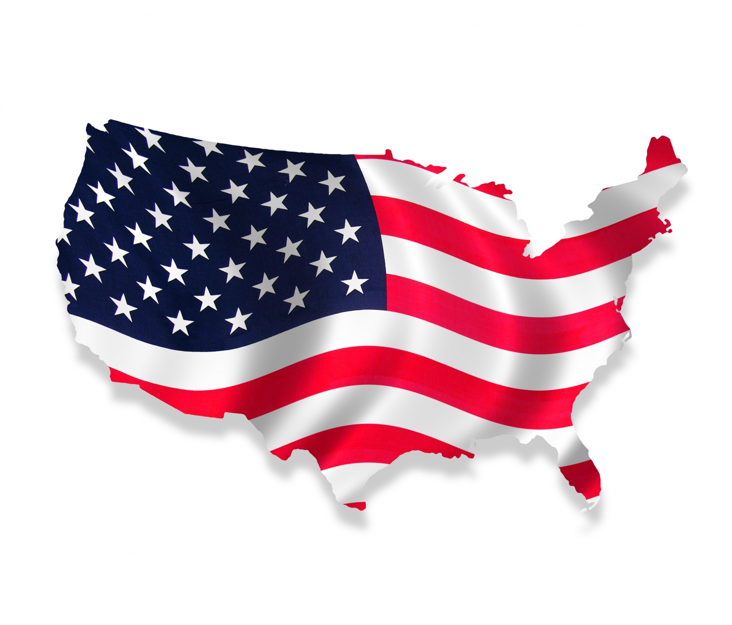 desktop hd pics of the american flag with country map outline