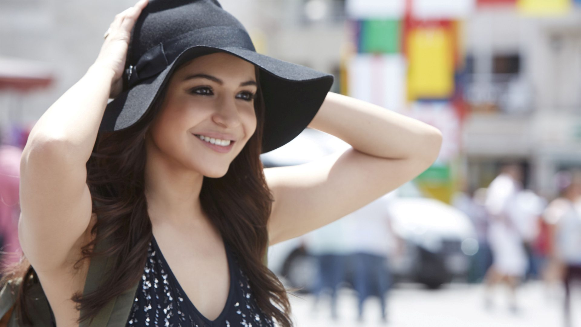 cute anushka sharma stylish look free desktop mobile background hd pictures
