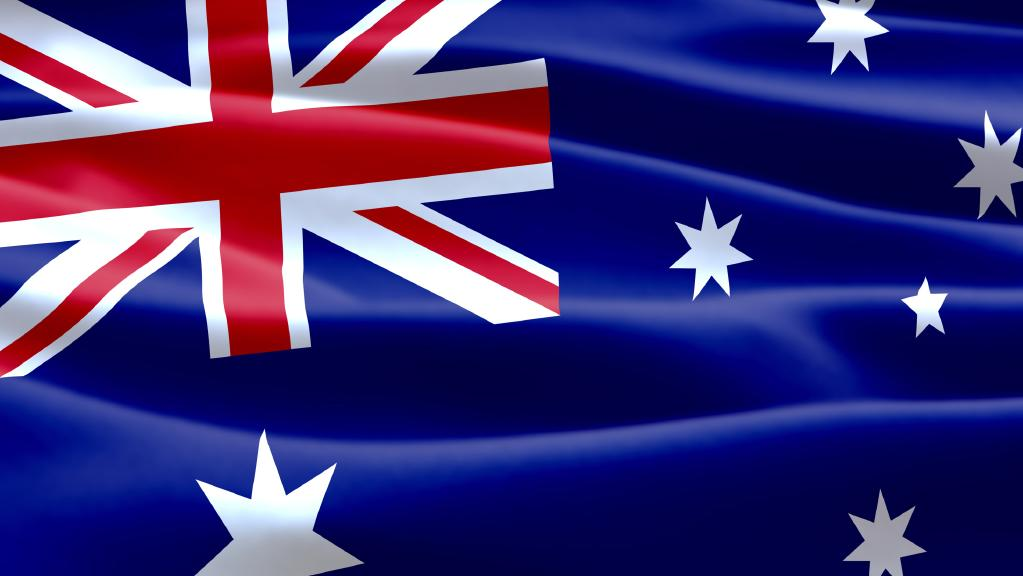 australia flag free vector download
