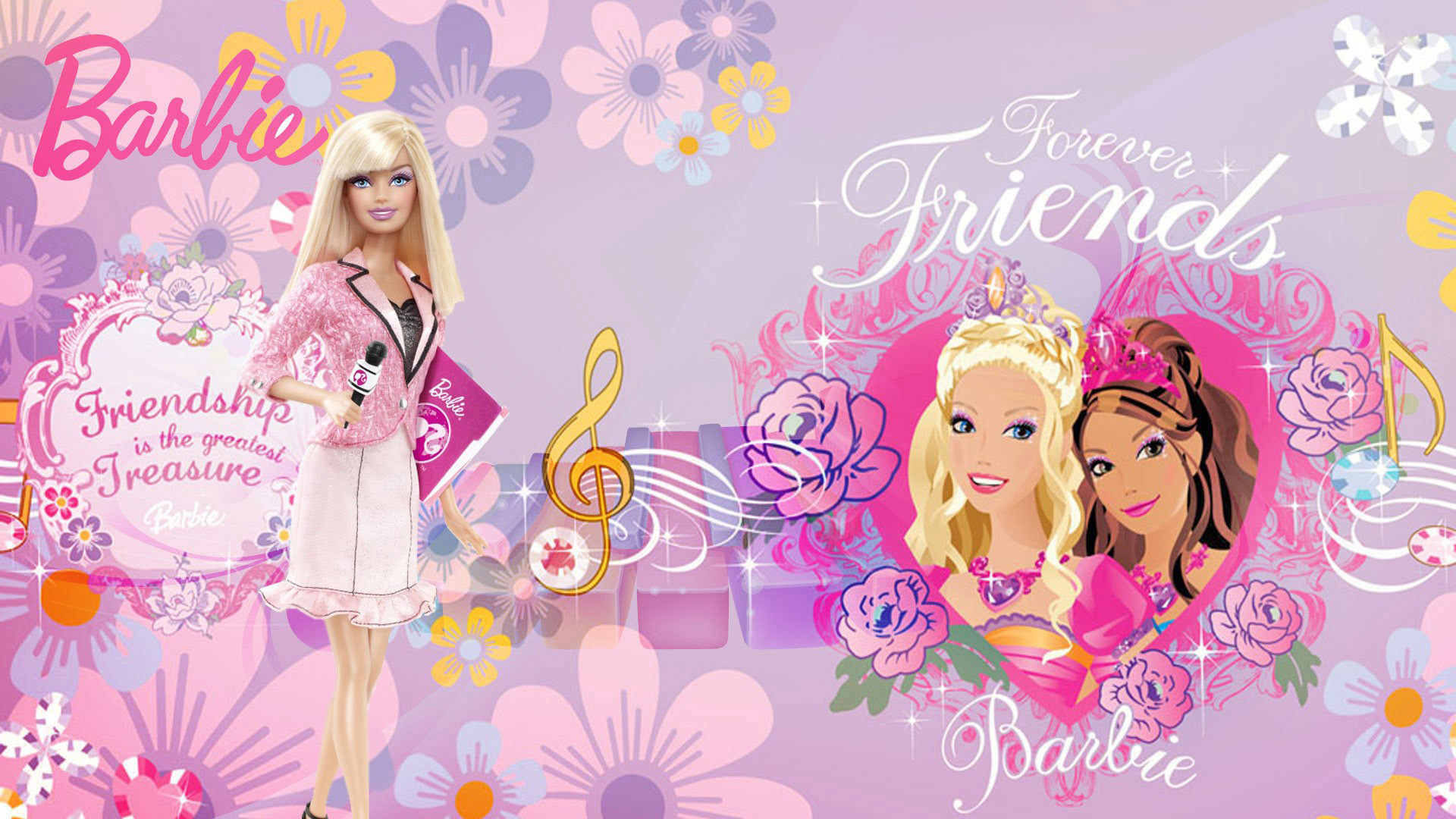 barbie doll wallpapers for mobile free download