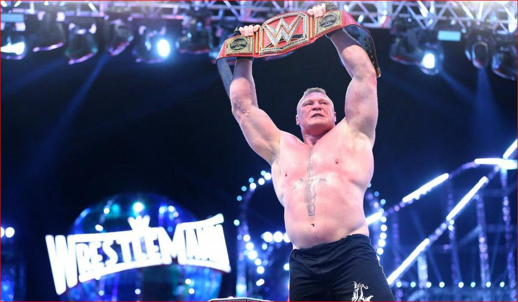Brock Lesnar Eat Sleep Conquer Repeat Wallpaper