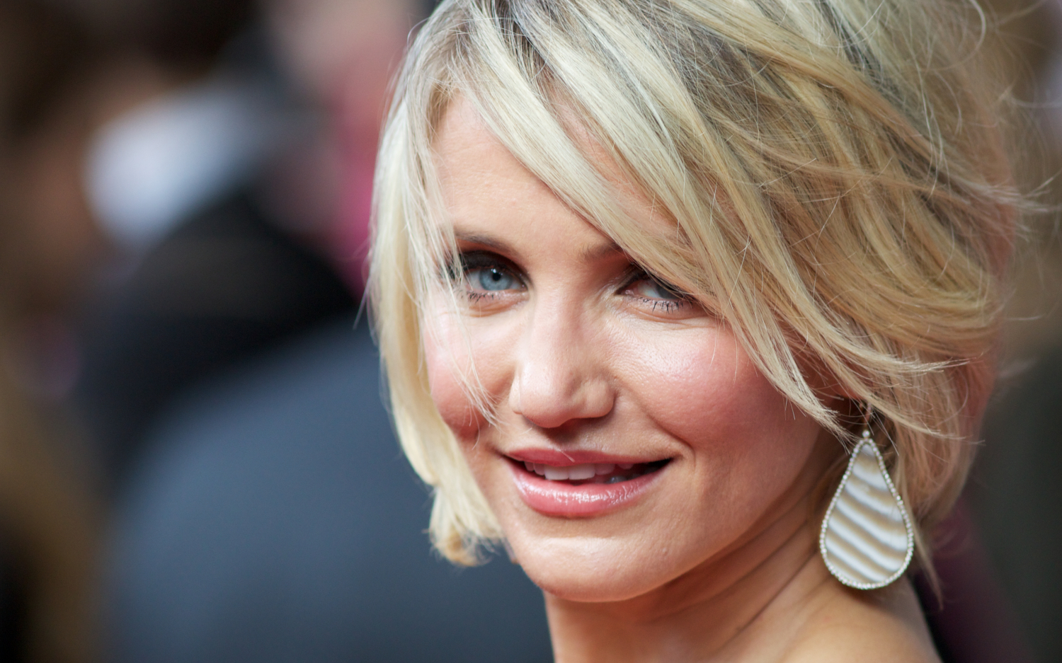 smile cameron diaz hd face desktop wallpaper download