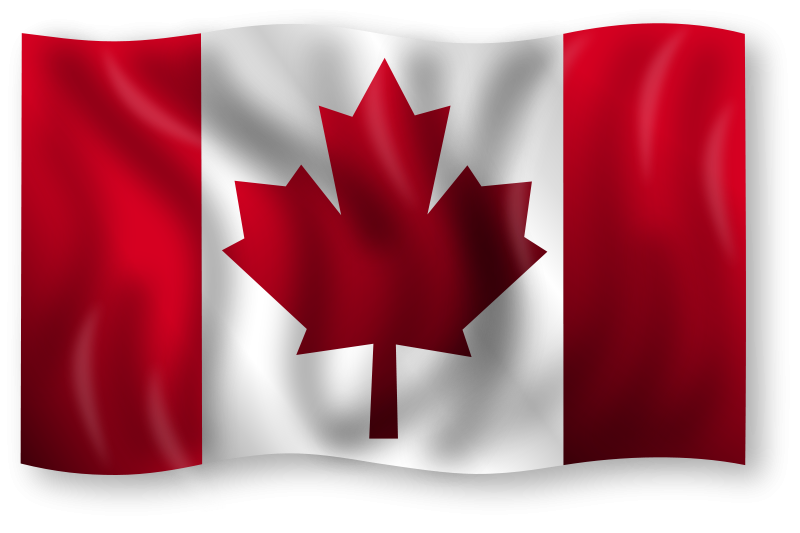 4k height definition canada flag wallpaper