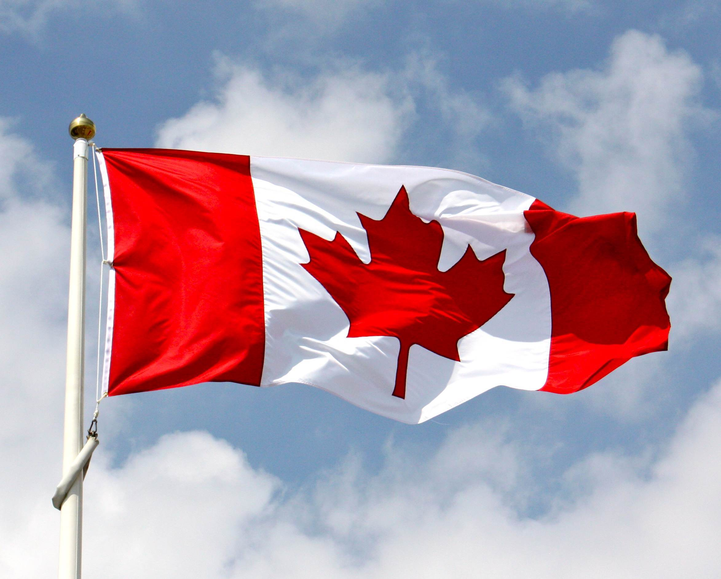Canada Flag Mobile And Desktop Wallpapers