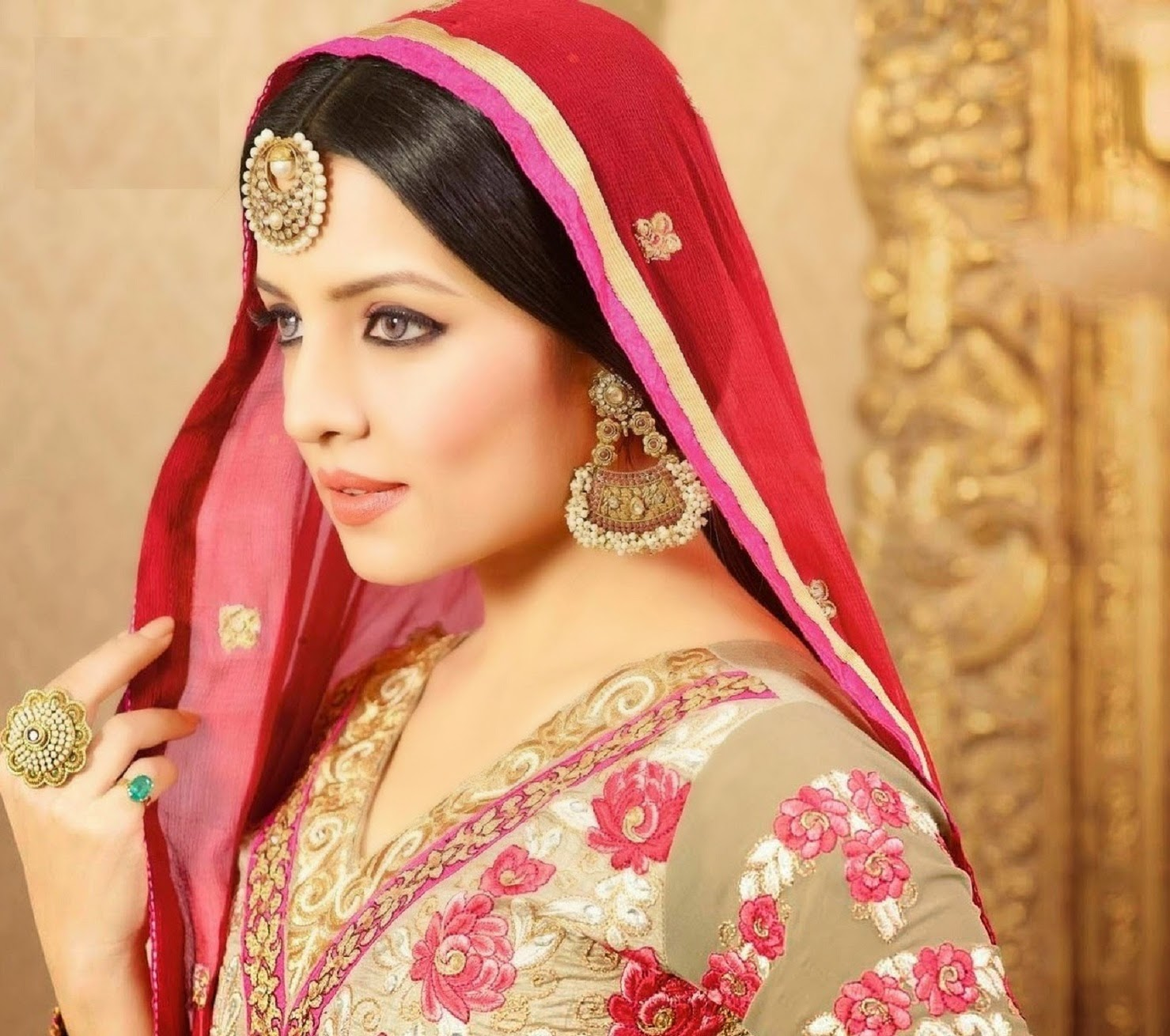 Cute Celina Jaitly Fantastic Side Look Mobile Hd Download Free Background Pictures
