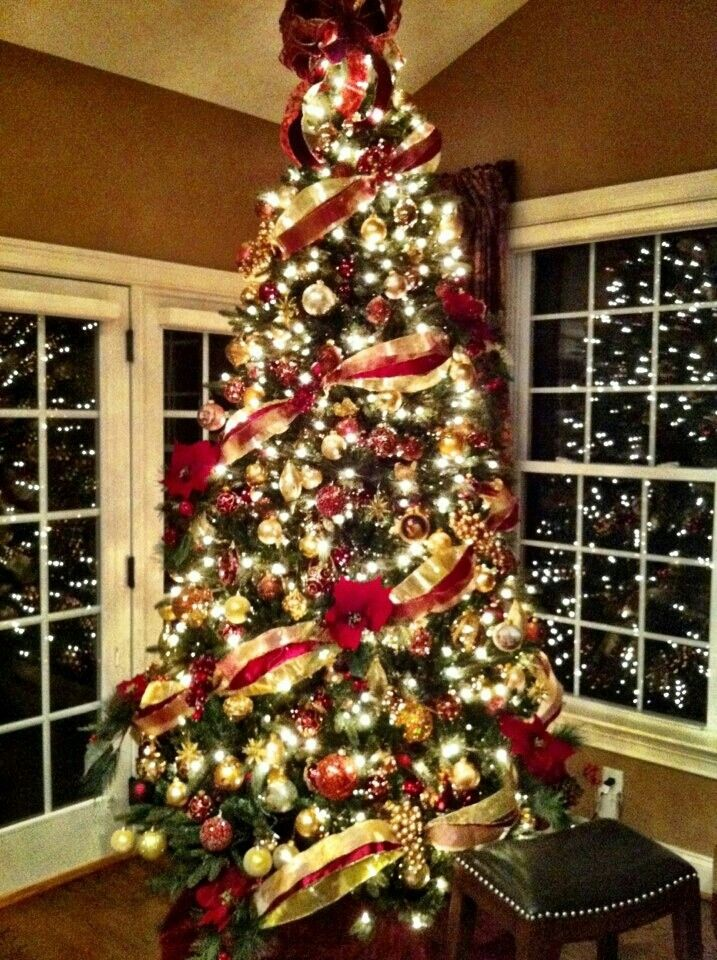 ideas for christmas tree decorating