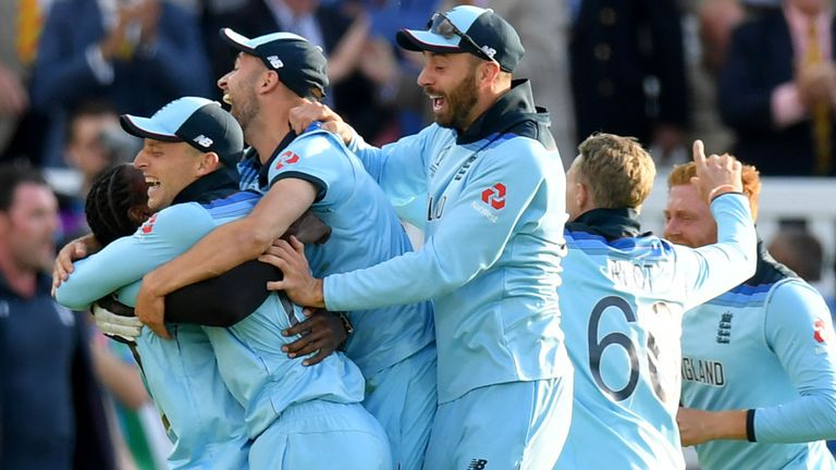 england win world cup 2019 despite tied super over celebration