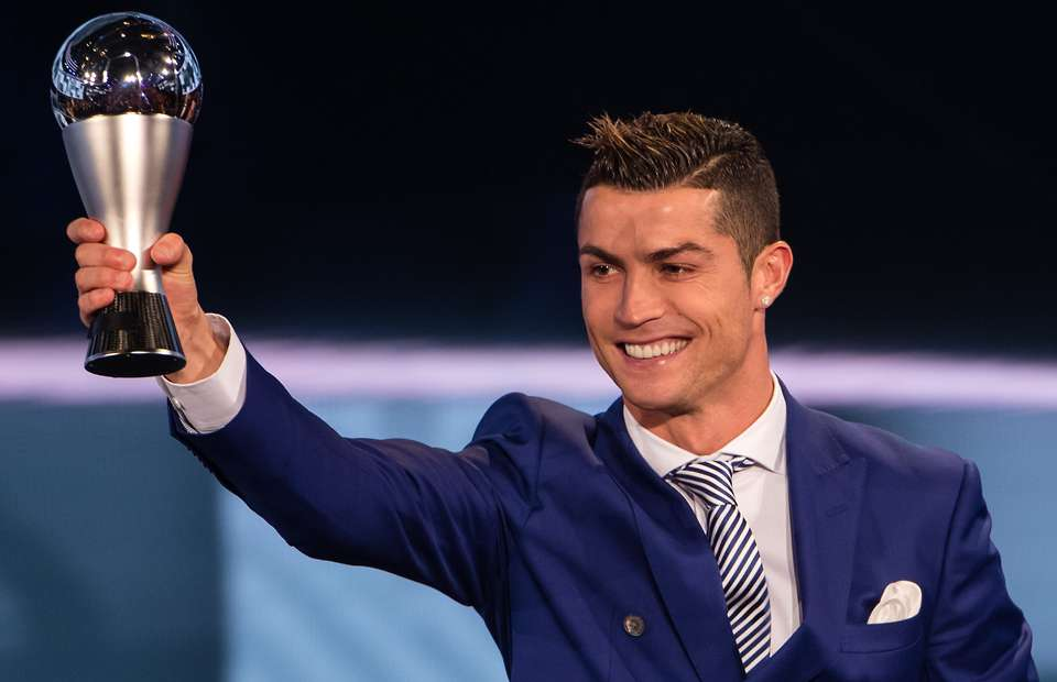 Cristiano Ronaldo Won Fifa 2017 Best  Player Award Fourth Time