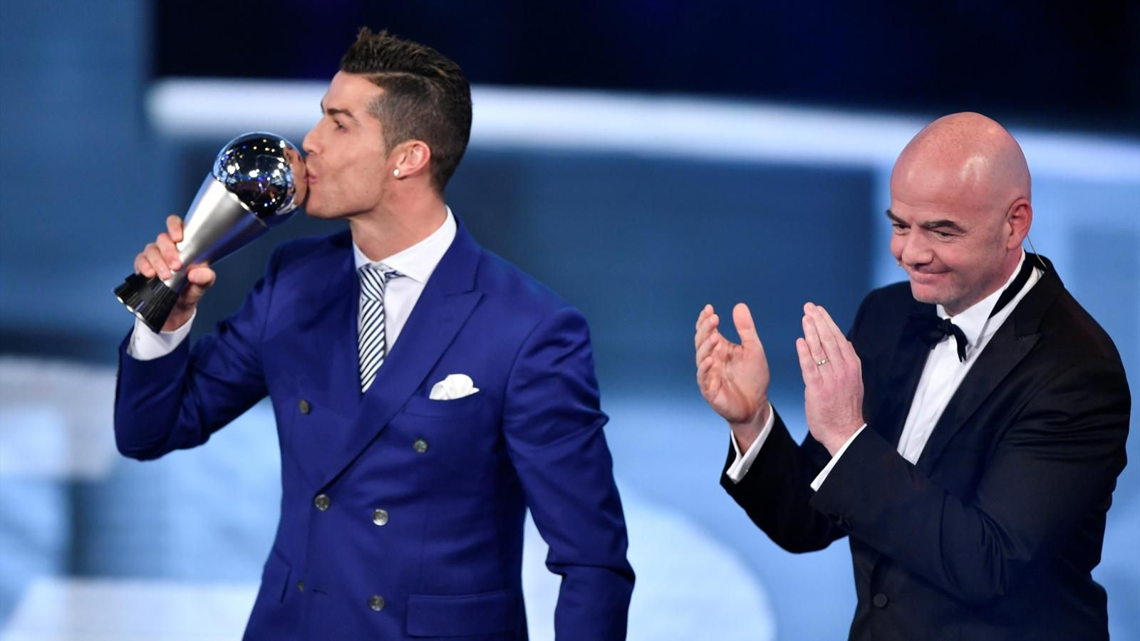 real madrid and portuguese celebrity star best fifa foodball awards