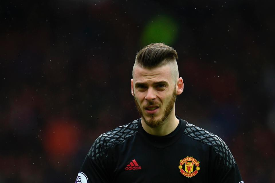 beautiful david de gea hair style hd free download wallpapers