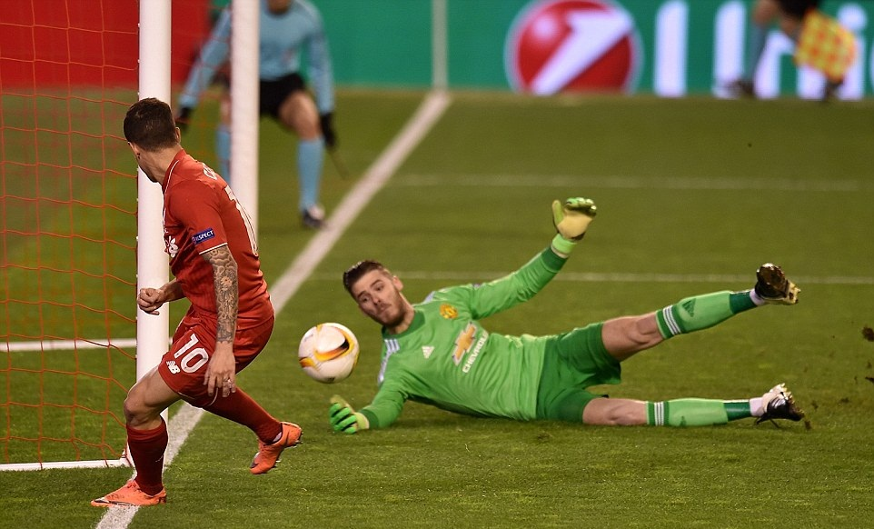 beautiful david de gea saving goal mobile hd download wallpapers