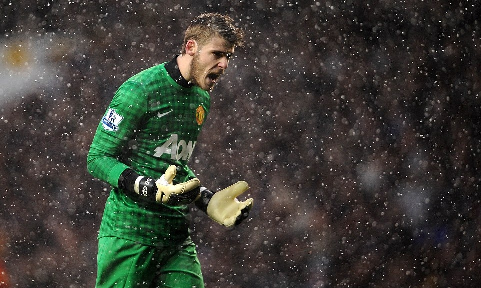 david de gea amazing reaction in rain mobile free hd download photos