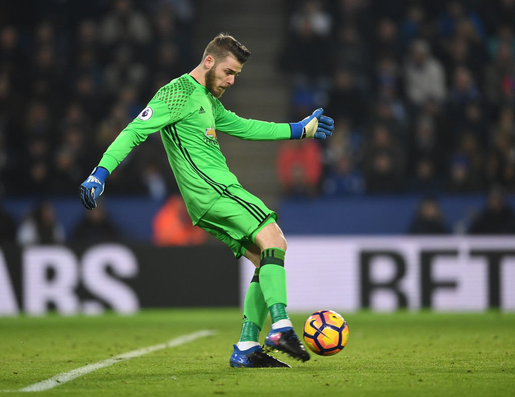 David De Gea Kick Ball Hd Desktop Images