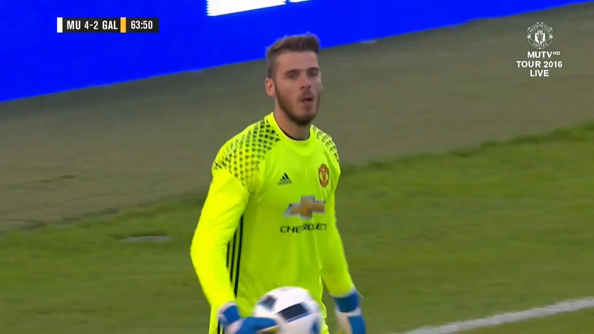 Manchester Uniteds David De Gea 2016 Hd Images