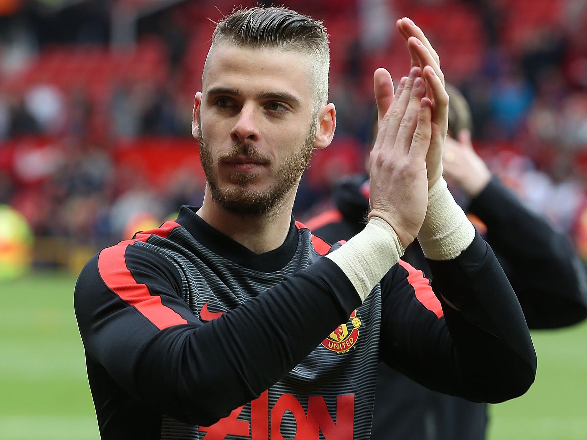 Spain Soccer David De Gea Clapping Mobile Free Hd Download Pictures