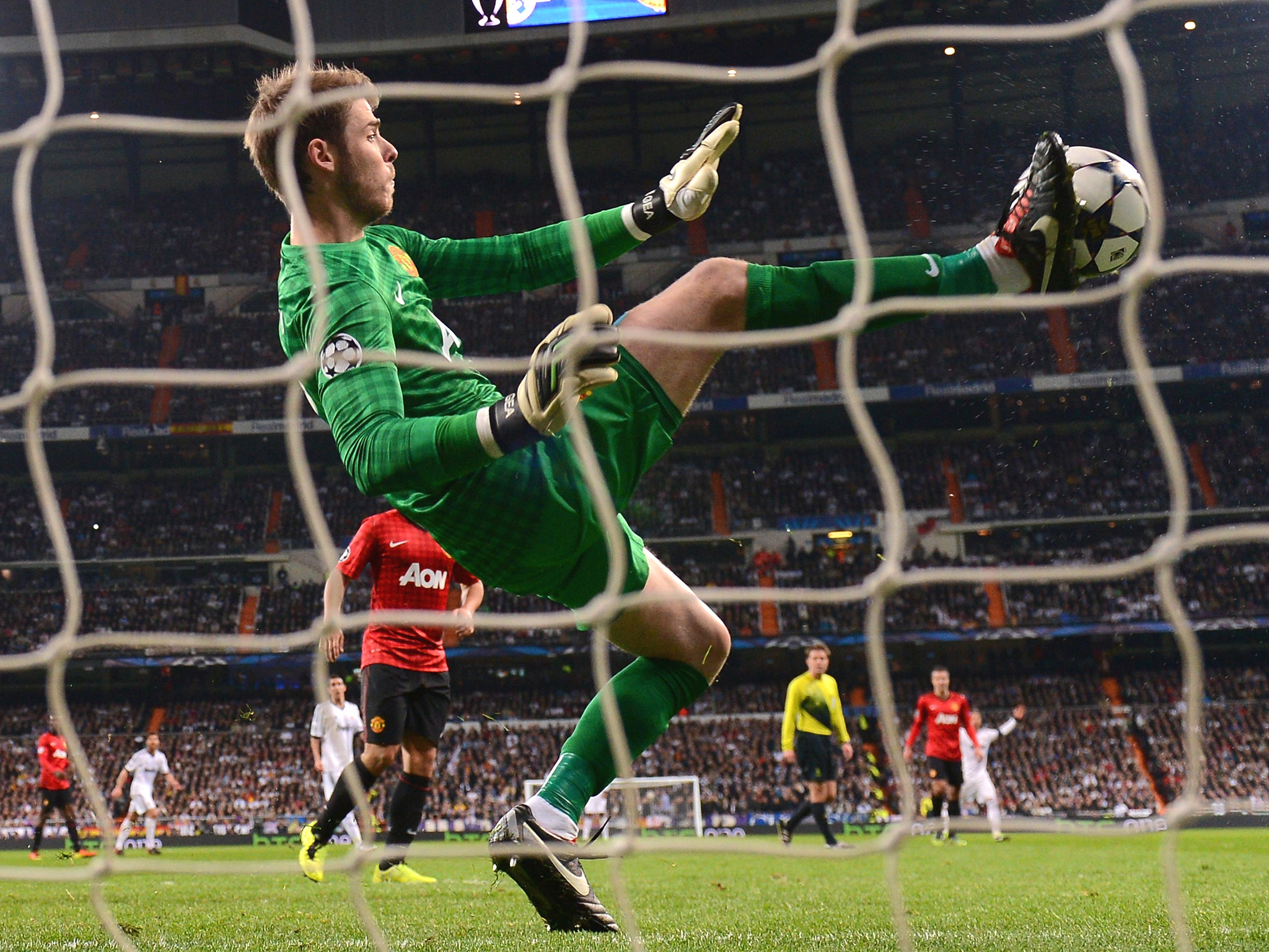 wonderful saving goal david de gea hd mobile background images