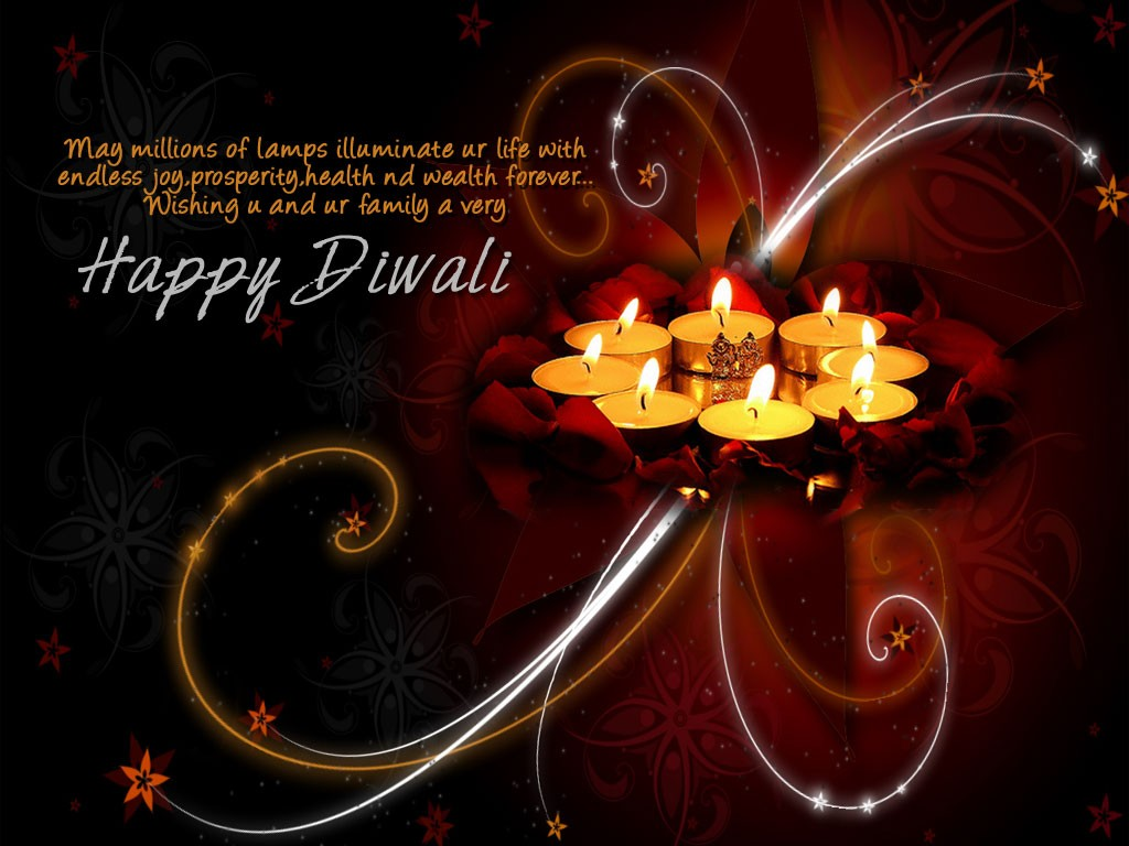 2017 Diwali Greeting Cards Wallpaper Images Photos Lightning Fires