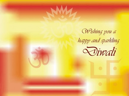 Whatsapp Wishes Happy Diwali Card Wallpapers 2017
