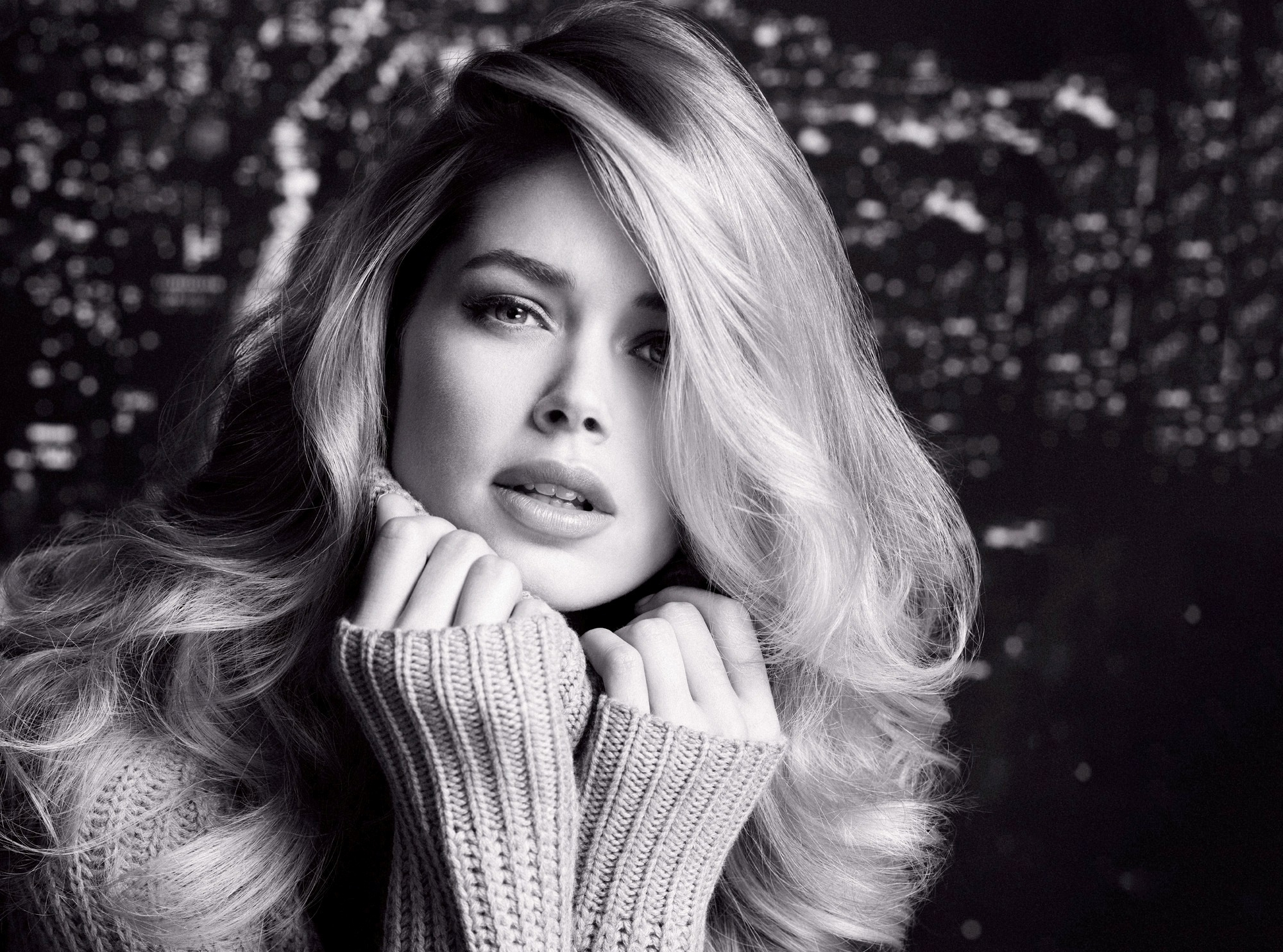 desktop doutzen kroes lovely look mobile hd background free wallpaper
