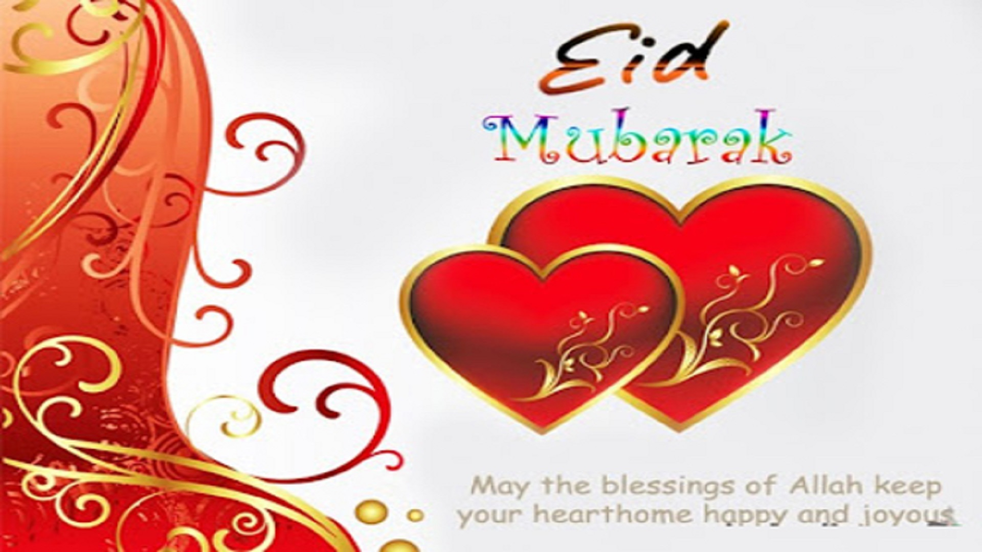 beautiful heart eid mubark hd free mobile desktop background pictures