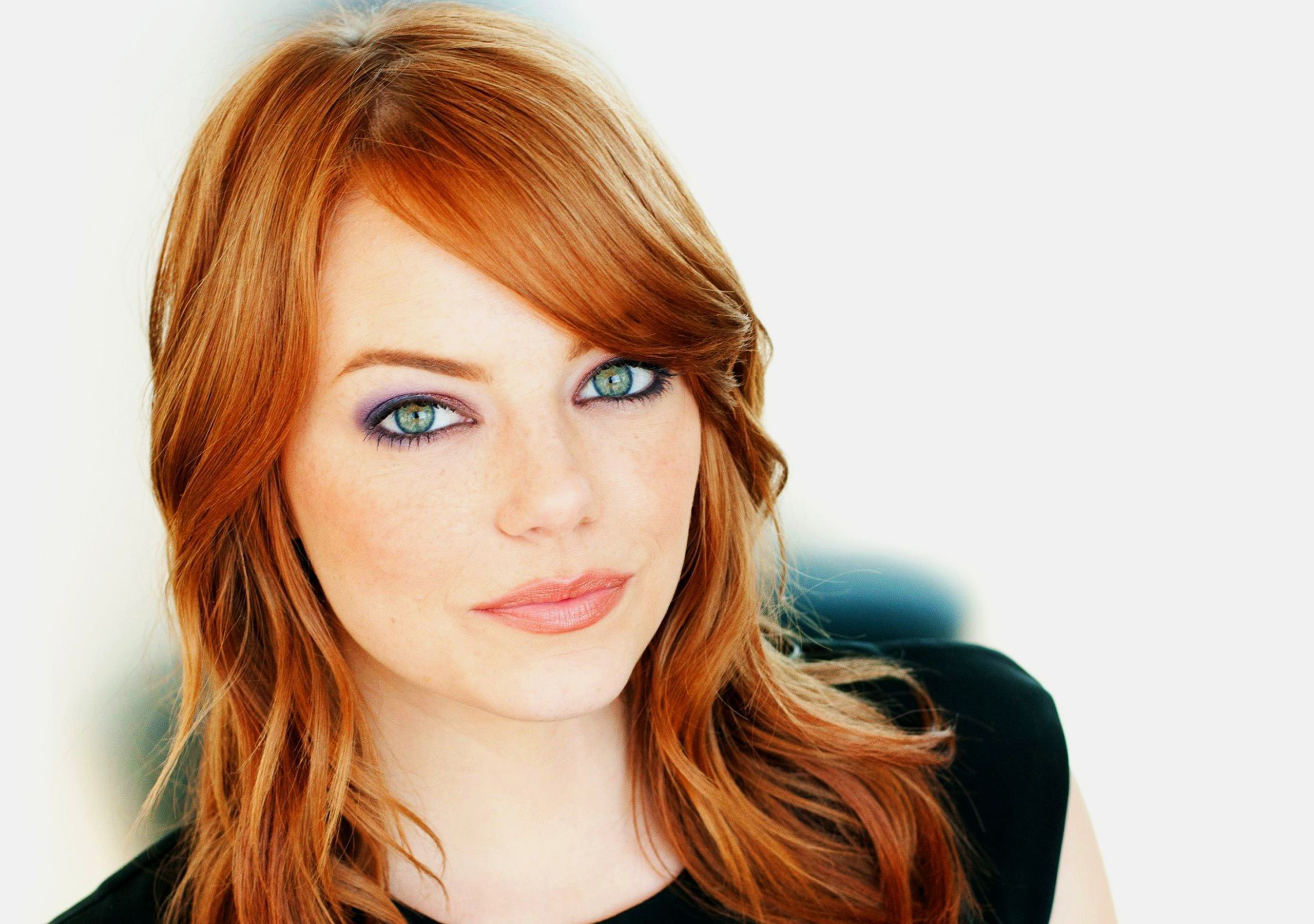 Desktop Emma Stone Beautiful Eye Look And Face Still Mobile Free Pictures Hd