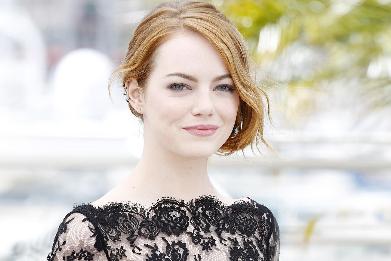 wonderful emma stone cute stylish look pose free background mobile hd download images