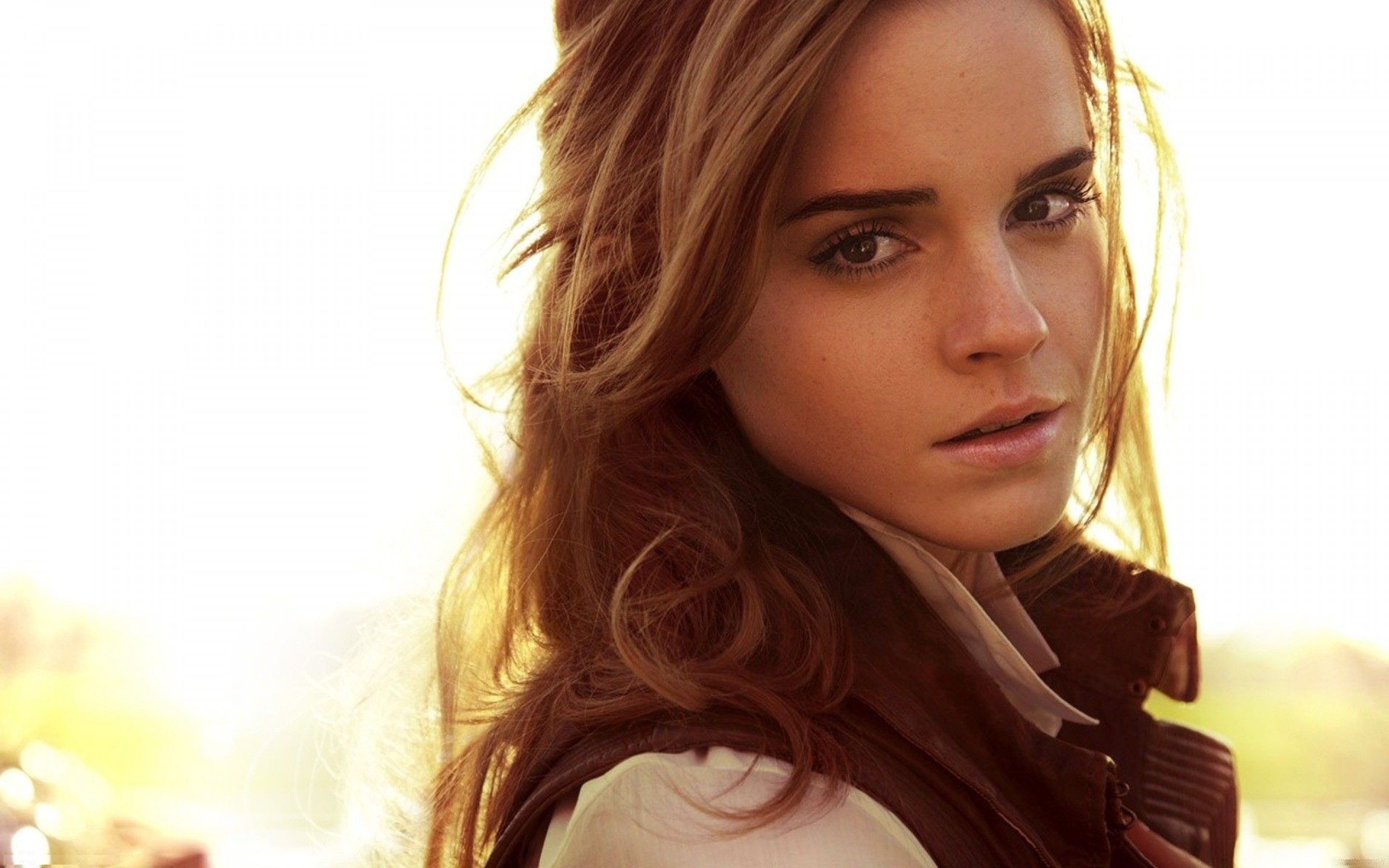 Lovely Emma Watson Download Background Fantastic Side Face Hd Photo Free