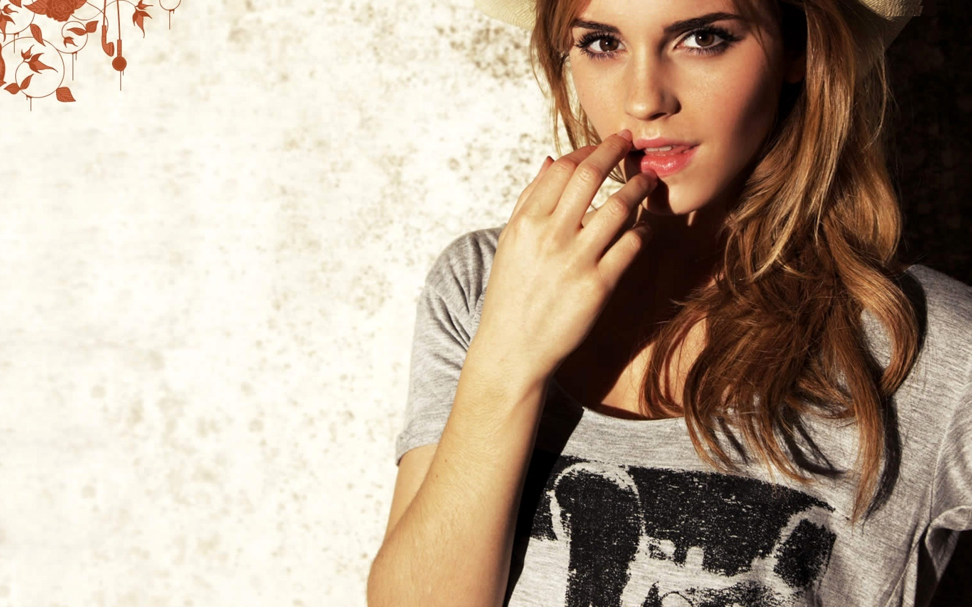 Lovely Emma Watson Fantastic Attractive Face Look Still Desktop Hd Mobile Free Background Images