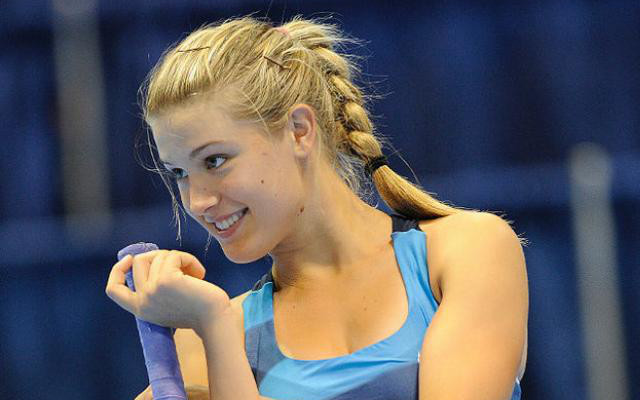 amazing eugenie bouchard stunning stylish pose mobile desktop background pictures hd free