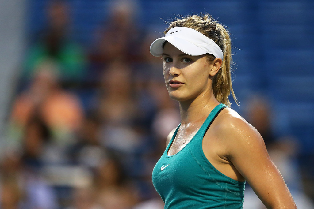 beautiful eugenie bouchard stylish look mobile background hd free deskop pictures