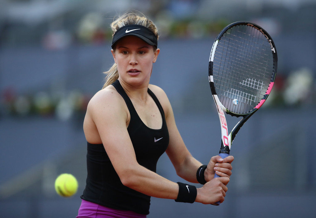 Cute Eugenie Bouchard Perfect Short Pose Laptop Hd Desktop Images Background Free