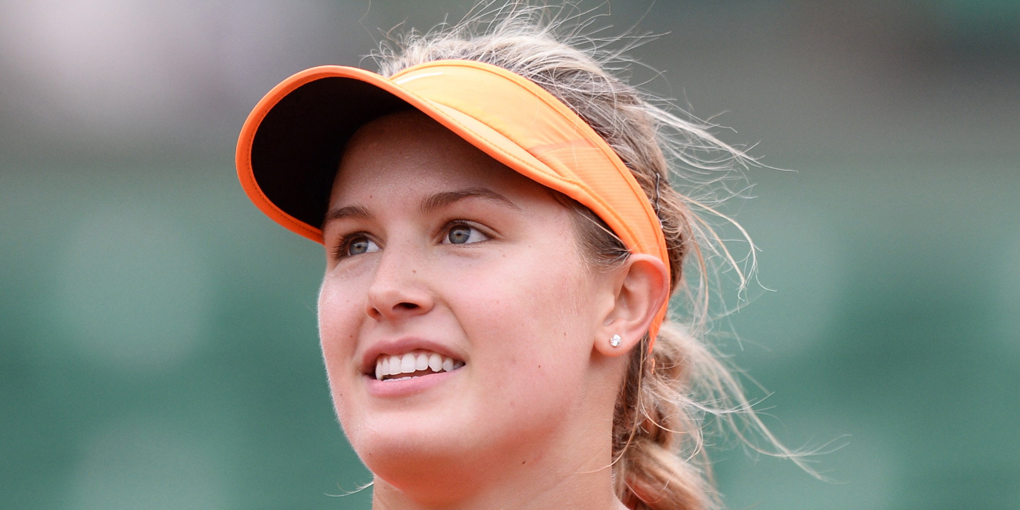Desktop Eugenie Bouchard Beautiful Look Hd Background Laptop Free Images