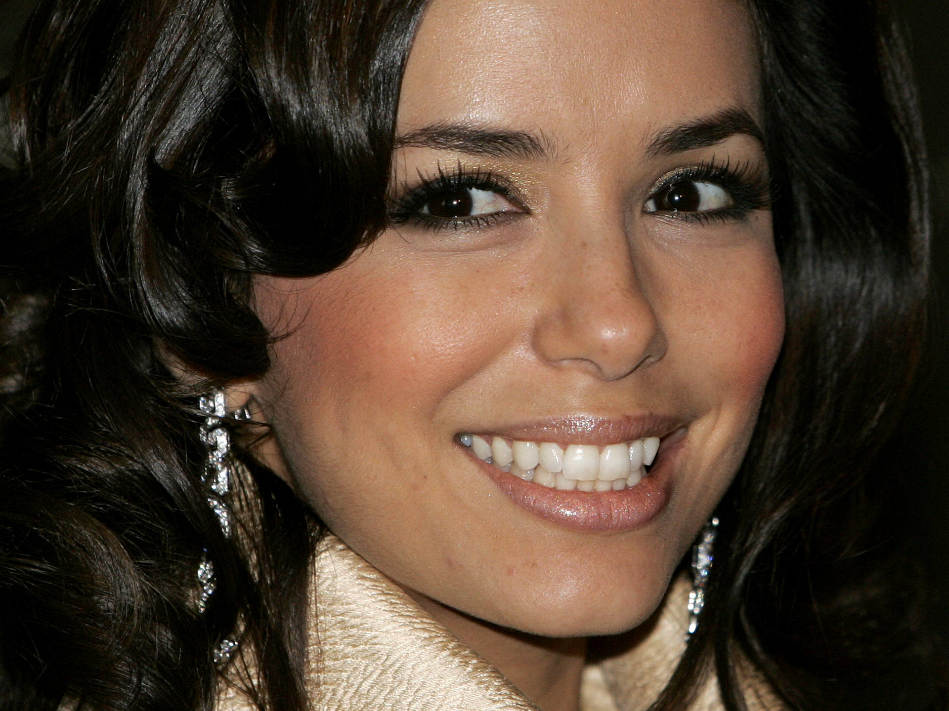 beautiful eva longoria wonderful romantic smile face look free mobile desktop background hd wallpaper