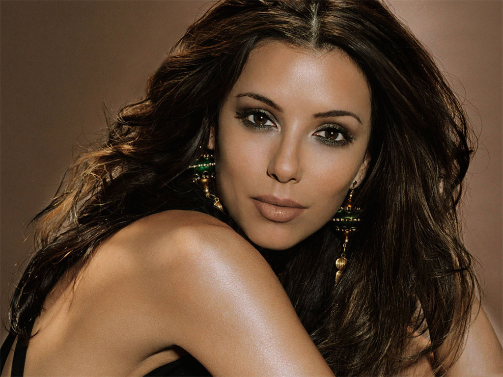 Desktop Eva Longoria Lovely Hot Eye Look Pose Hd Background Mobile Free Images