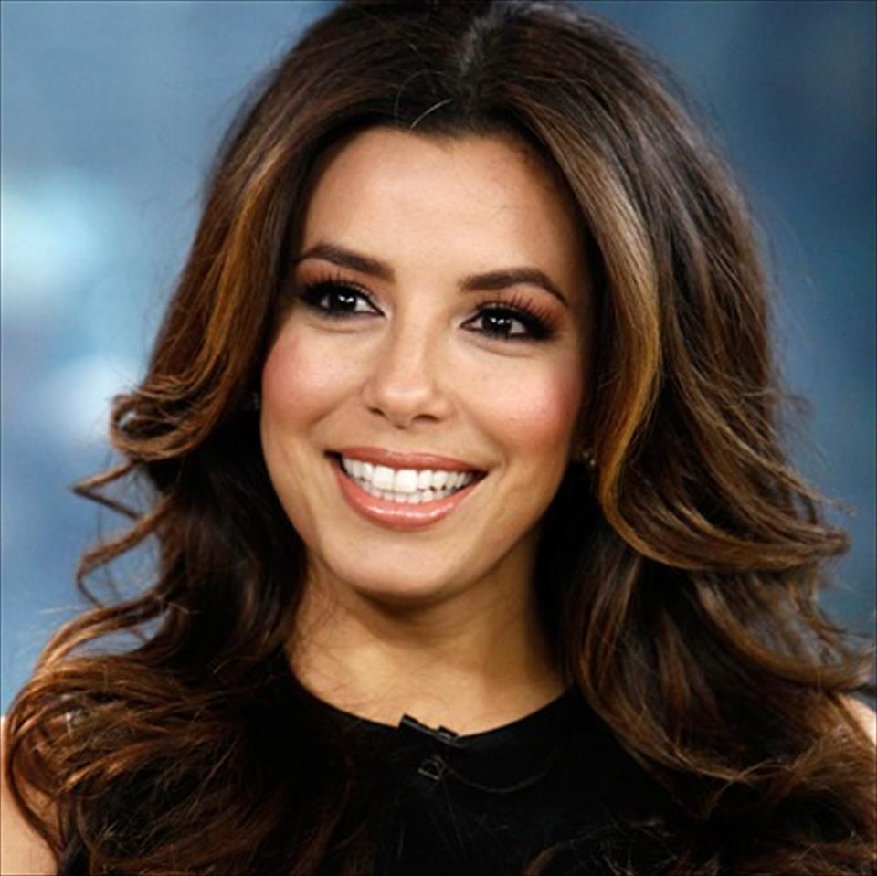 lovely eva longoria wonderful smile look pose desktop hd background free mobile wallpaper